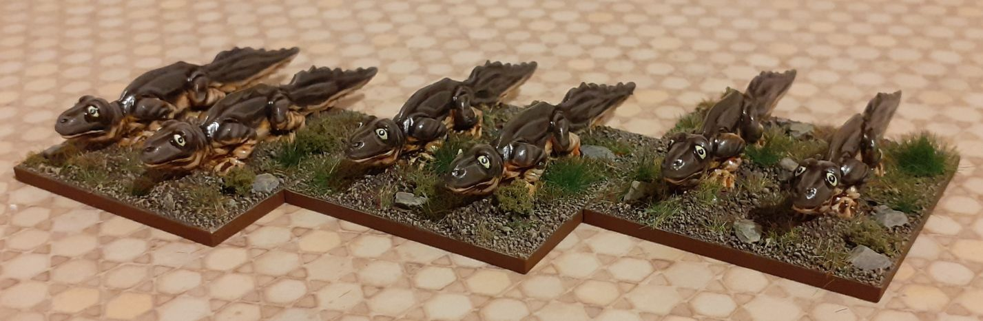 15mm Fantasy - Giant Newts